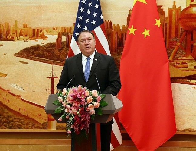 U.S. Secretary of State Pompeo Visits Beijing, China, 2018